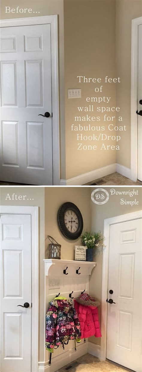 coat storage ideas small spaces best 25 front entrance decorating ideas on pinterest