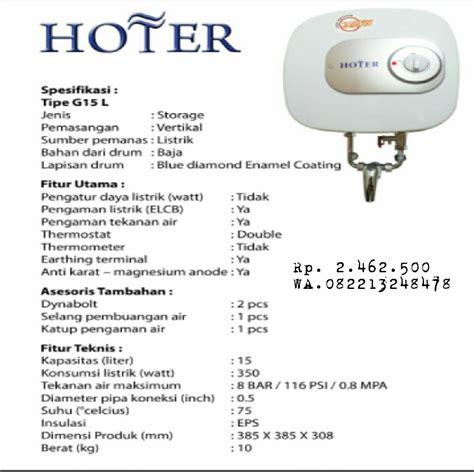 Water Heater Gas Hoter cv petronarwastu banyumas water heater elektrik hoter