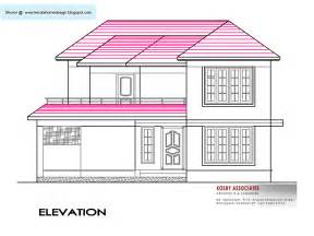 delightful House Building Plans Indian Style #1: elevation02800-sq-ft.gif