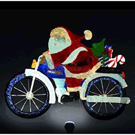 santa lawn decoration motorcycle santa lawn decoration sl105 inyopools
