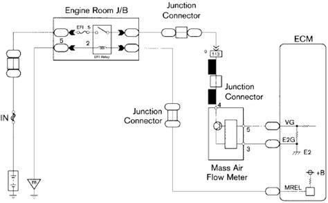 toyota maf sensor wiring diagram wiring diagrams repair