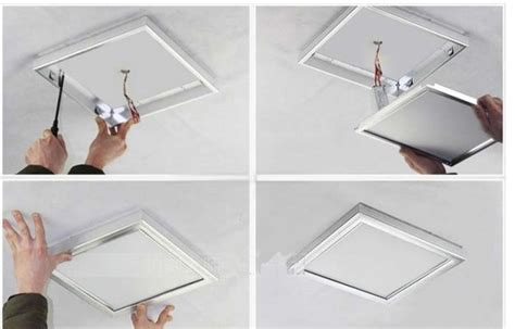 ceiling light installation for decoration iled flat