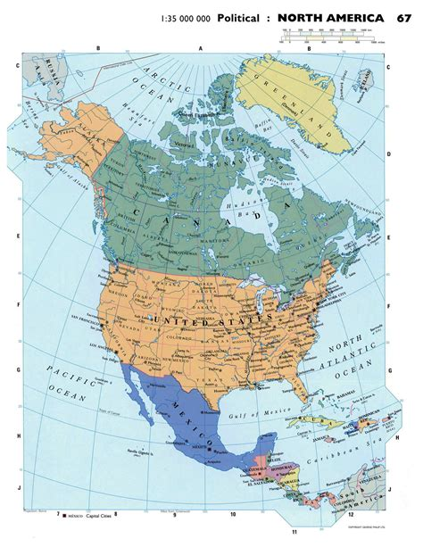 america map large maps of america and american countries