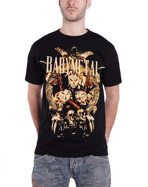 Baby Metal Band 3 T Shirt M babymetal t shirt knights japanese metal band logo