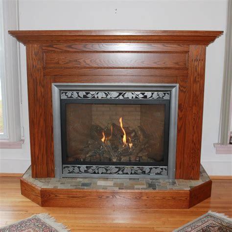custom oak fireplace mantel country furniture