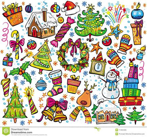 new year set design new year and set royalty free stock photo