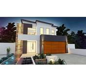 Planos De Casas Dos Pisos Modernas  Construye Hogar