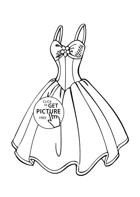 clothes coloring pages free printable printable coloring pages of fashion clothing many