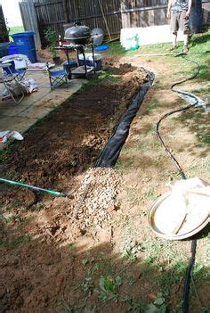 Landscape Edging To Divert Water 1000 Images About Water Drainage On