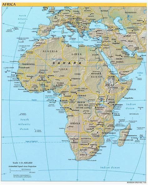 africa map detailed large detailed political and relief map of africa africa