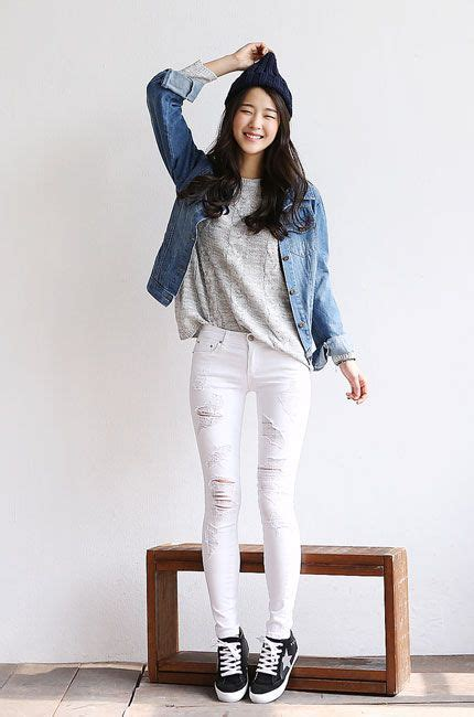 42269 Blue Denim Casual Blouse Blouse Biru Denim no 1 korean fashion shopping mall itsmestyle