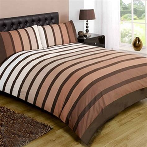 Poly Cotton Bedding Sets Striped Poly Cotton Duvet Cover Modern Quilt Cover Bedding Bed Set Ebay