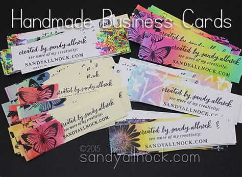 Handmade Business - handmade business cards allnock