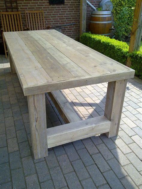 Gartentisch Selber Bauen Fliesen by Ladenbau Tisch Bauholz Esstisch Gartentisch M 246 Bel