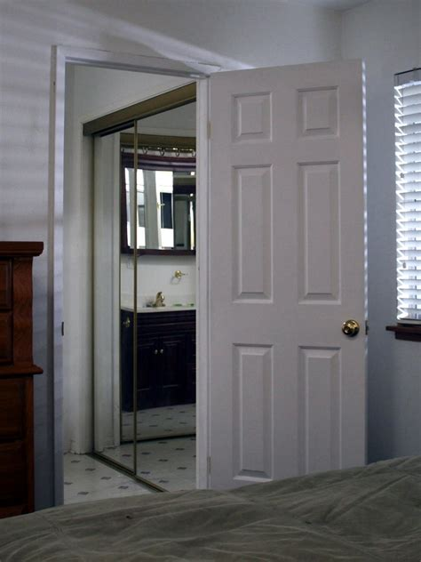 swing in door replacing a pocket door with a swinging door hgtv