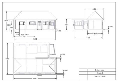 2d house drawing cad drawings gi drawings