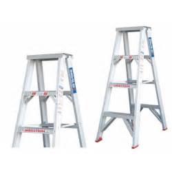 sided aluminium step ladder