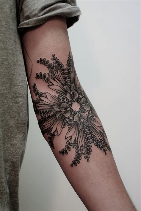 tattoo flower forearm inner arm flower tattooshelenasaurus