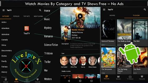 free tv on android by category and tv shows free on android with no ads funnycat tv