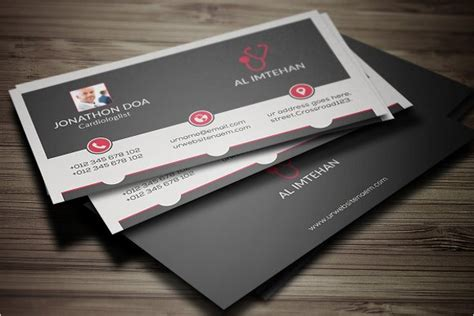 doctor visiting card design templates 35 business card designs free premium templates