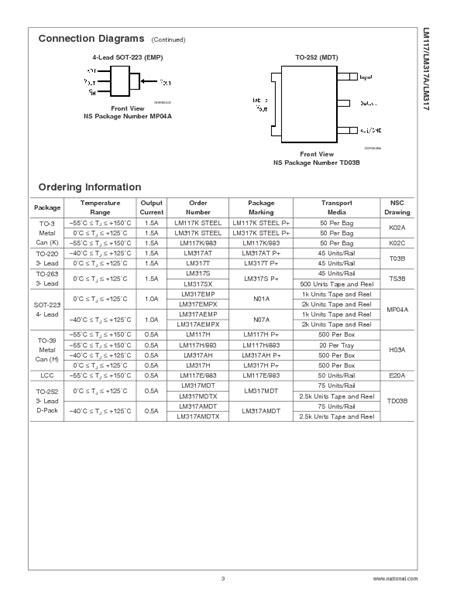 datasheet transistor lm317 datasheet transistor lm317 28 images b3170v datasheet voltage regulators lm317 pollin lm317