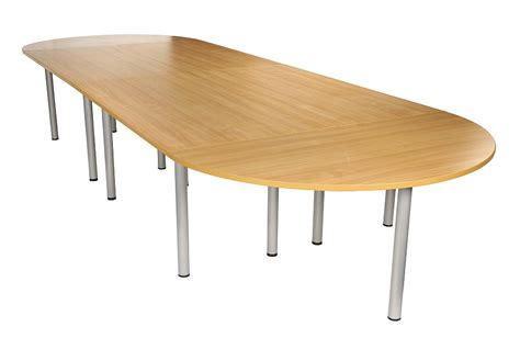 Oak Boardroom Table Boardroom Table In Beech Light Oak Office Furniture Solutions 4u