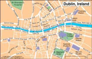 dublin map dublin map regional city of ireland map of ireland city