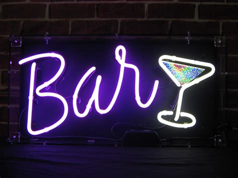 Neon Bar Lights by Neon Lights And Neon Signs To Hire From Neon Creations
