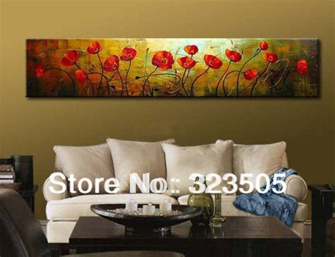popular items for red poppy home decor on etsy aliexpress com buy abstract modern large single wall art