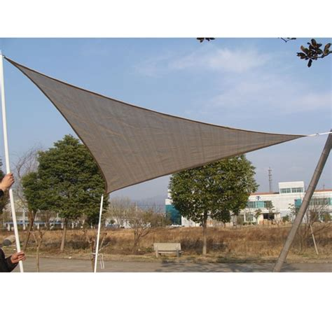 triangular awning outdoor outdoor 18ft triangle sun sail shade cover awning shelter