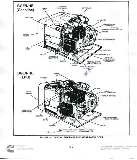 onan 4000 generator remote start switch wiring diagram