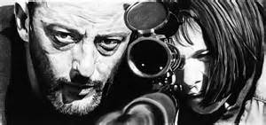 black and white movies leon the professional weapons