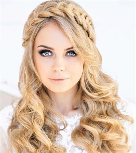 coiffure des cheveux photo coiffure mariage des cheveux longs avec une