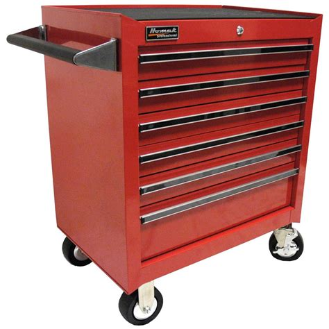 Rolling Cabinet by Homak 174 Professional 27 Quot 6 Drawer Rolling Cabinet