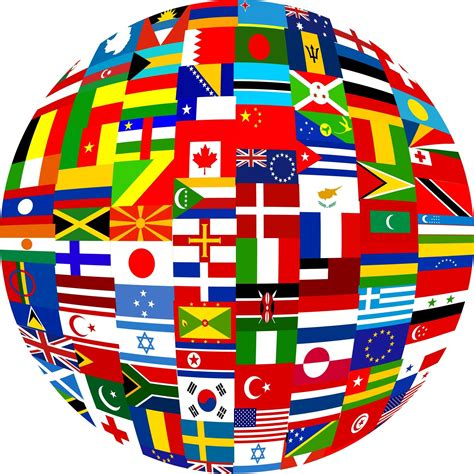 flags of the world languages world languages globe images