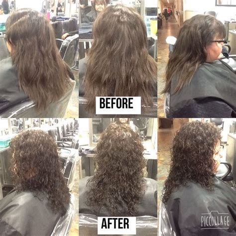 before and after cut and perm pictures 9 best hair styling images on pinterest hair cut hair