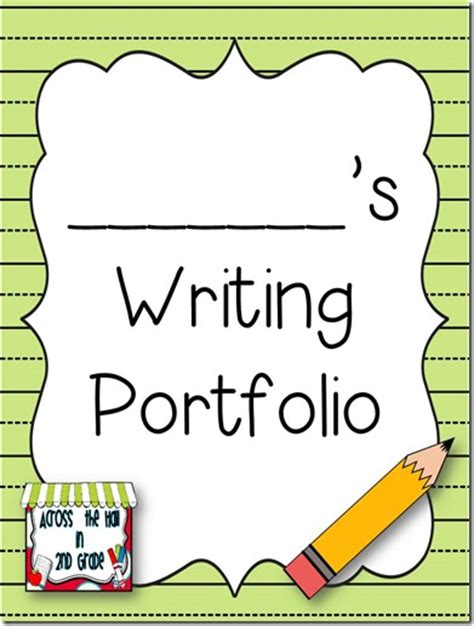 across the in 2nd write about it wednesday student portfolios