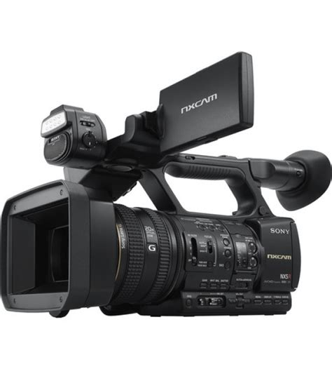 Kamera Sony Semi Pro sony professional hxr nx5r nxcam built in led light
