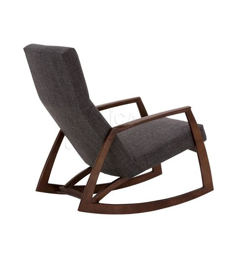 Walnut Dining Room Furniture Edvard Rocking Chair Danish Design Replica Furniture