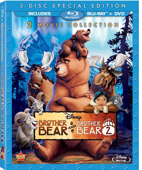 disneys brother bear movie dvd blu ray trailer woning walt disney pictures announced blu ray movie release line