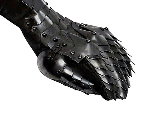 Home Decor Cheap Prices german gothic nazgul fantasy black gauntlets fully