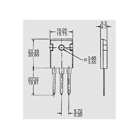 schottky diode mbr mbr 4045 pt to housing schottky diodes elpro elektronik