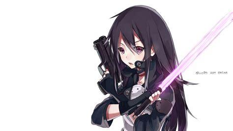 anime wallpaper hd gun sword art online 2 wallpaper 6