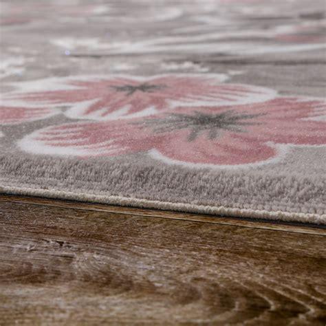 teppiche in altrosa designer teppich blumen grau rosa design teppiche