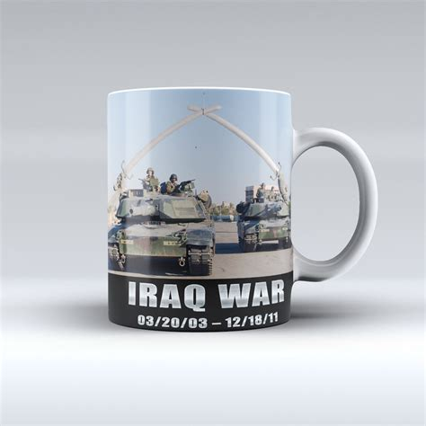 Coffee War iraq war coffee mug honor duty valor