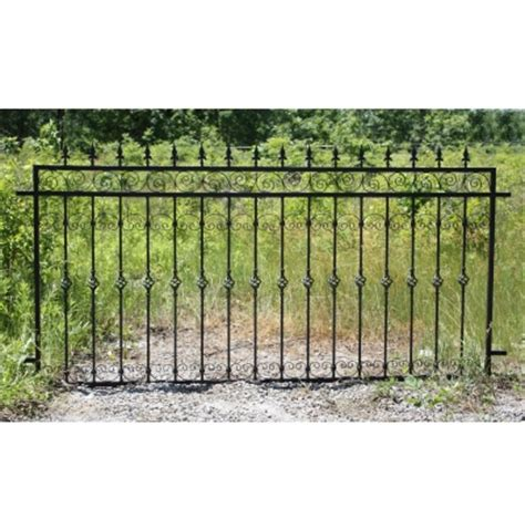 wrought iron fence panel irongate garden elements