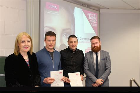 Dcu Executive Mba Fees by Cima Prize Awarded To Dcu Accounting And Finance Students