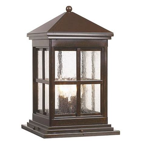 pier mount lights berkeley collection 18 3 4 quot high outdoor pier mount light