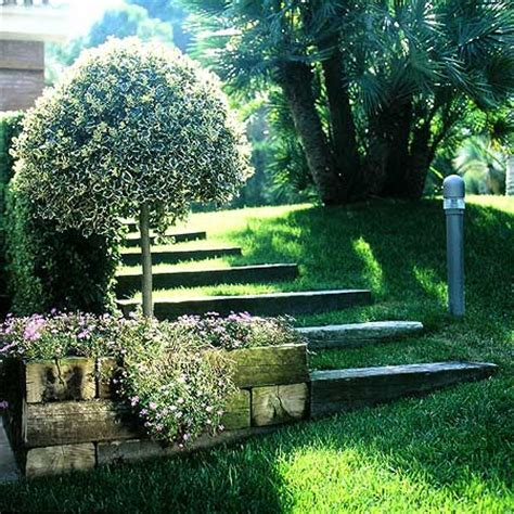 imagenes de jardines en terrenos inclinados taludes desniveles y escaleras en el jard 237 n fotos