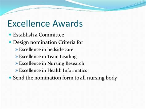 design excellence criteria nurse recognition day celebration ideas in the middle east